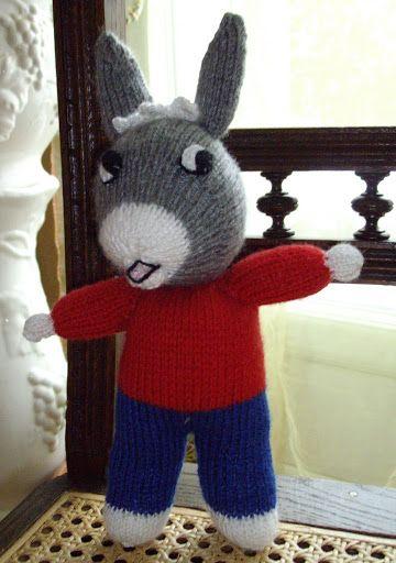 tricoter un ane