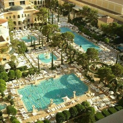 Beautiful Day To Hit The Pools At The Bellagio What 39 S Your Favorite Vegas Hotel Hotel