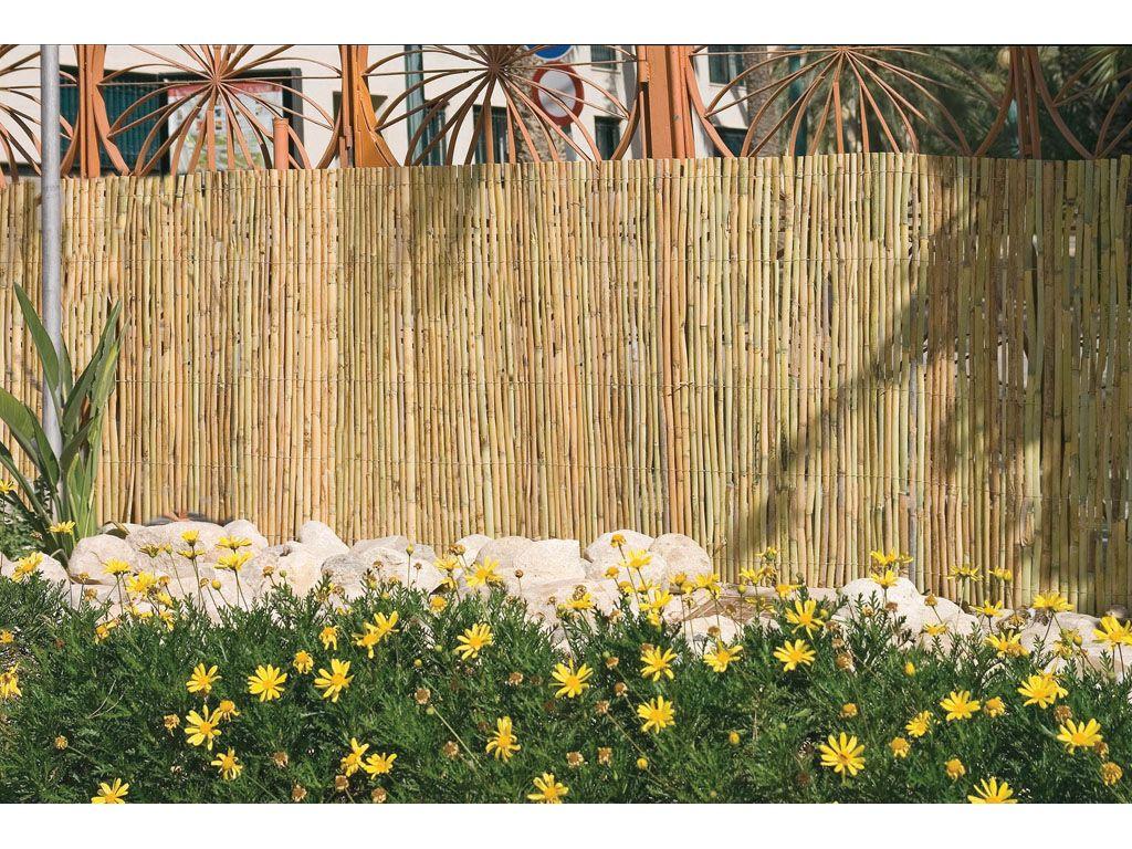 Cerramientos de ca izo para jard n catral jardiner a - Canizo para jardin ...