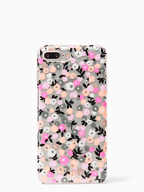 finest selection cbe34 6ae49 Kate Spade Ditsy Floral Iphone 7/8 Plus Case, Clear | Products ...