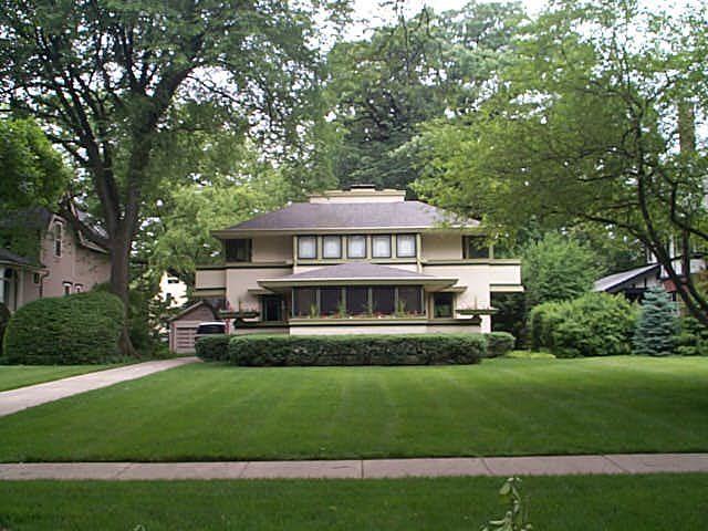 Frank Lloyd Wright Prairie Style j kibben ingalls house. frank lloyd wright prairie style. 1909