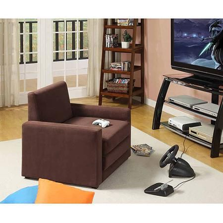 Single Seater Sleeper Chair Multiple Colors