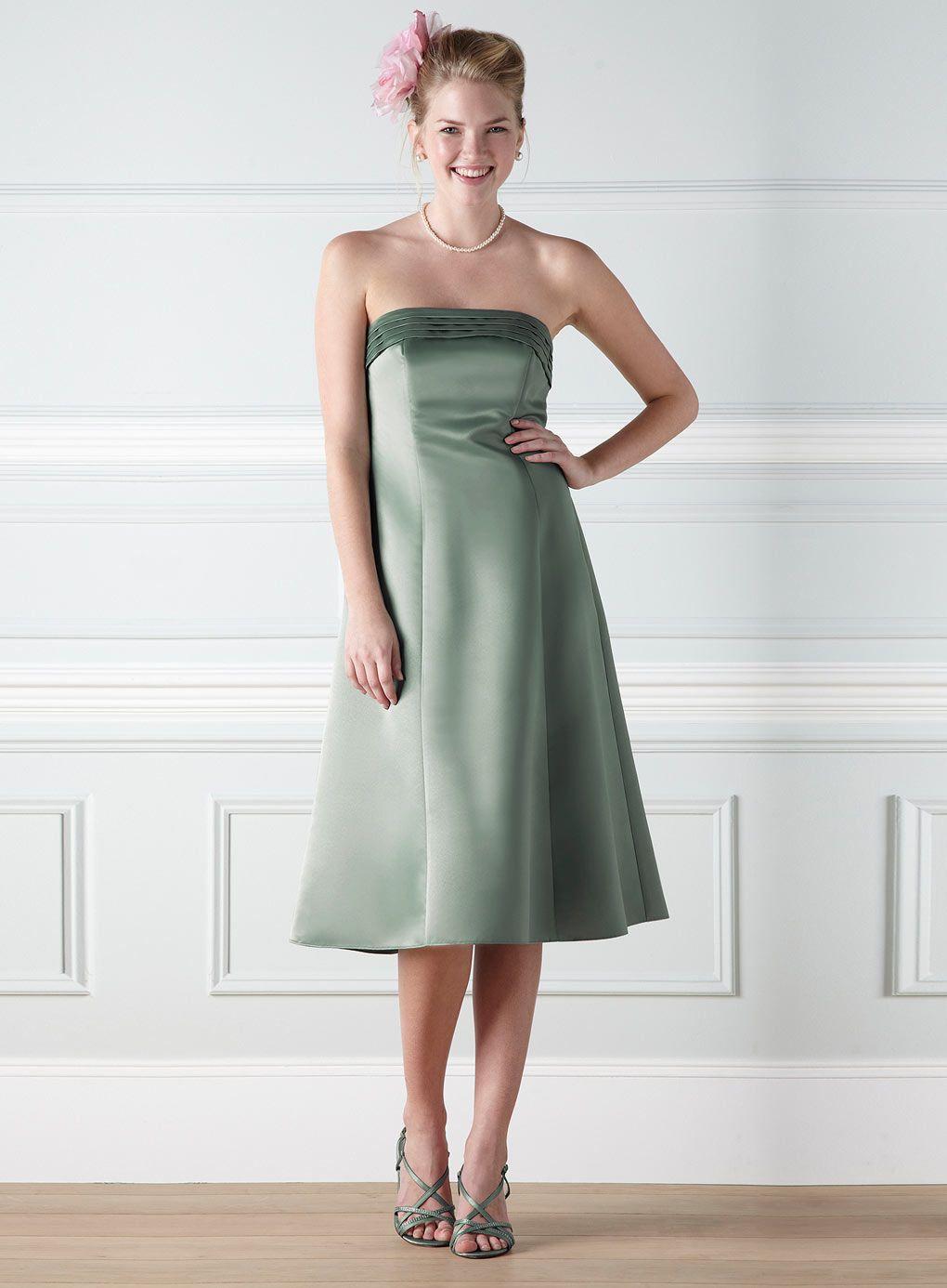 Anna Green Bridesmaid Dress 80 Bhs
