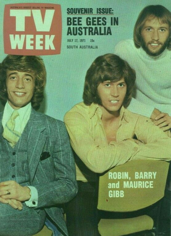 The Beegees Eo Bee Gees Barry Gibb Andy Gibb