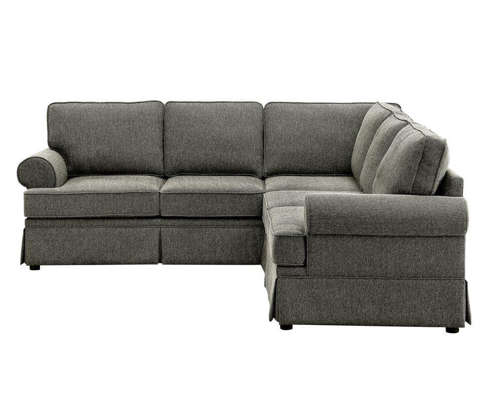 Gracie Oaks Hermina Sectional   Wayfair   Sectional sofa ...