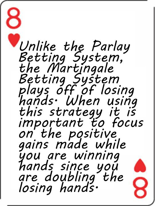 System Plays Sports Betting
