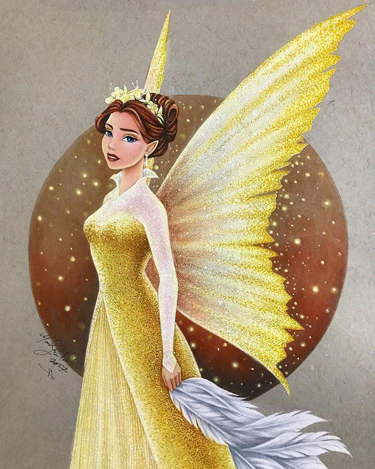 Queen Clarion | Disney princess drawings, Disney drawings, Disney