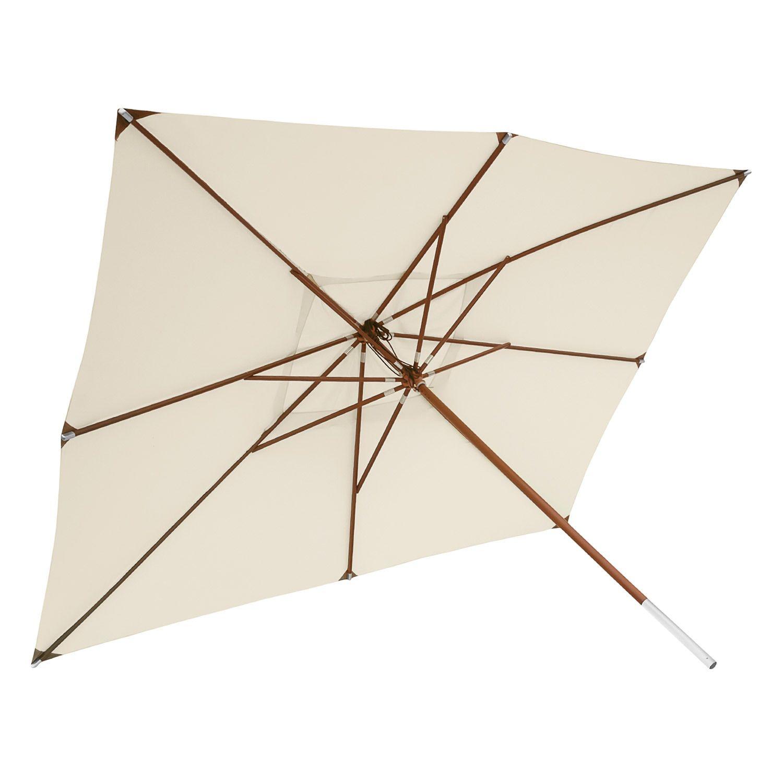 Anndora De Anndora Sonnenschirm Gross 3x4 M Natural Natural Zum Online Shop Sonnenschirm Sonnenschirm Gross Schirm