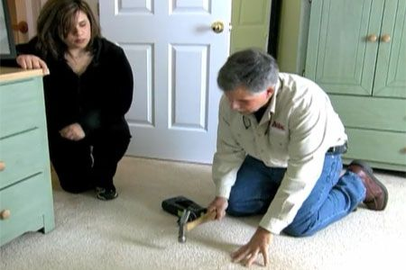 How To Repair Squeaky Floors Through Carpeting How To