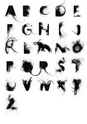 Letter Made Out Of Objects.Letters Made From Objects Google Search Typography