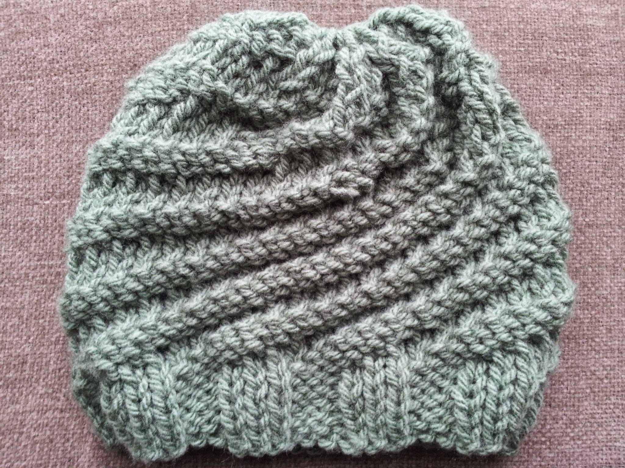 Materiales: Un ovillo de lana. Una aguja circular del nº 8 con cable ...
