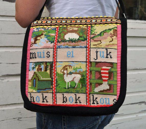 Messenger bag 'back to school'
