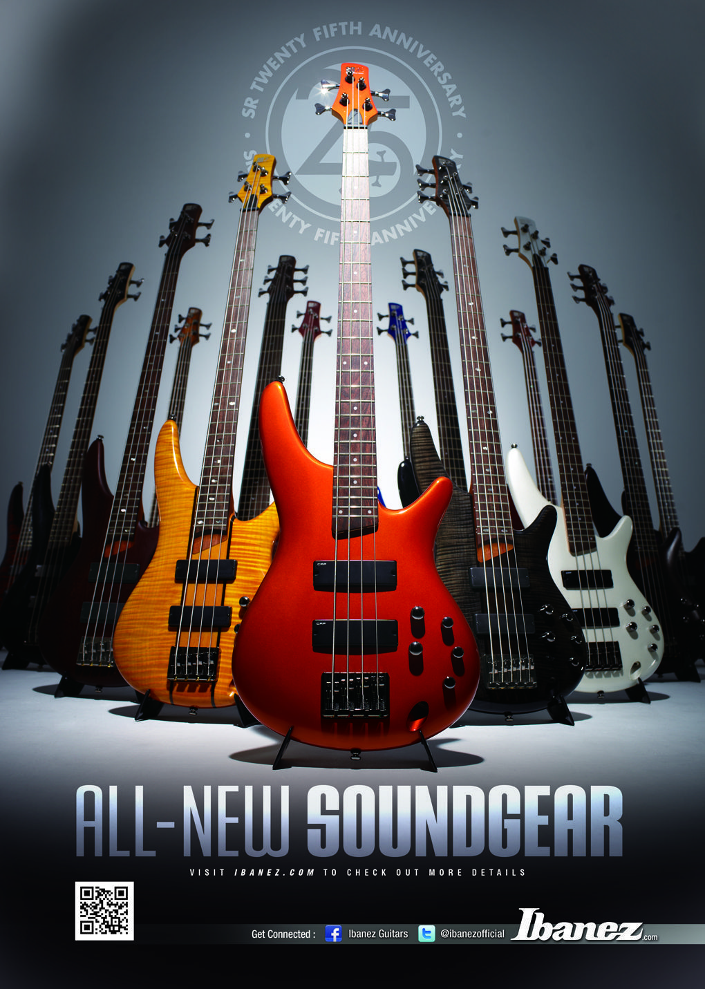 Ibanez Bass Guitar SR AD 25th Anniversary Photos Of