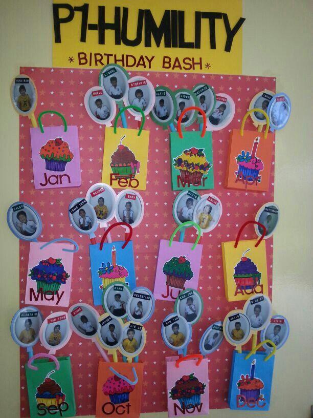 Classroom Decoration Birthday Chart ~ Birthday chart classroom ideas pinterest