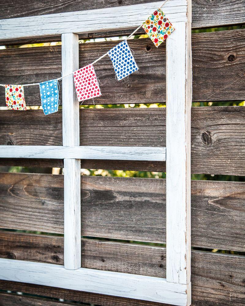 How To Make A Diy Window Frame Farmhouse Style Life Storage Blog Diy Window Frame Window Frame Crafts Rustic Window Frame