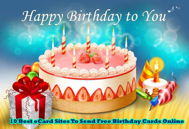 10 Best ECard Sites To Send Free Birthday Cards Online Happy Animated