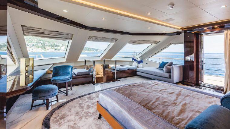 Luxurise Yacht Interieur in Fotos  glamourse Deko