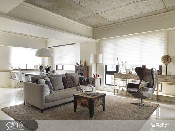 沒有拘束的優雅 訂製一間美式Loft 風格宅