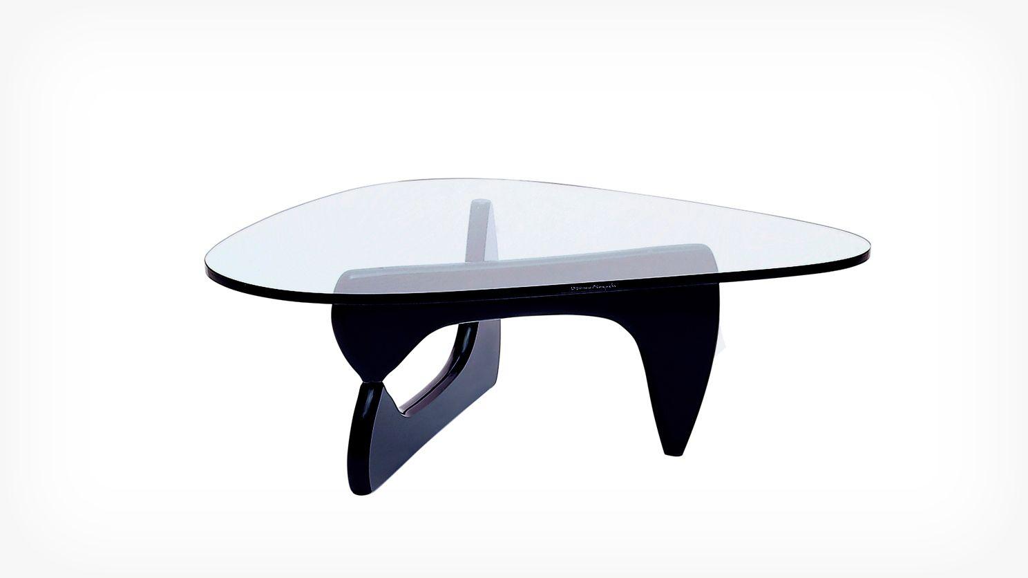 Noguchi Coff Table Black Overhead Noguchi Coffee Table