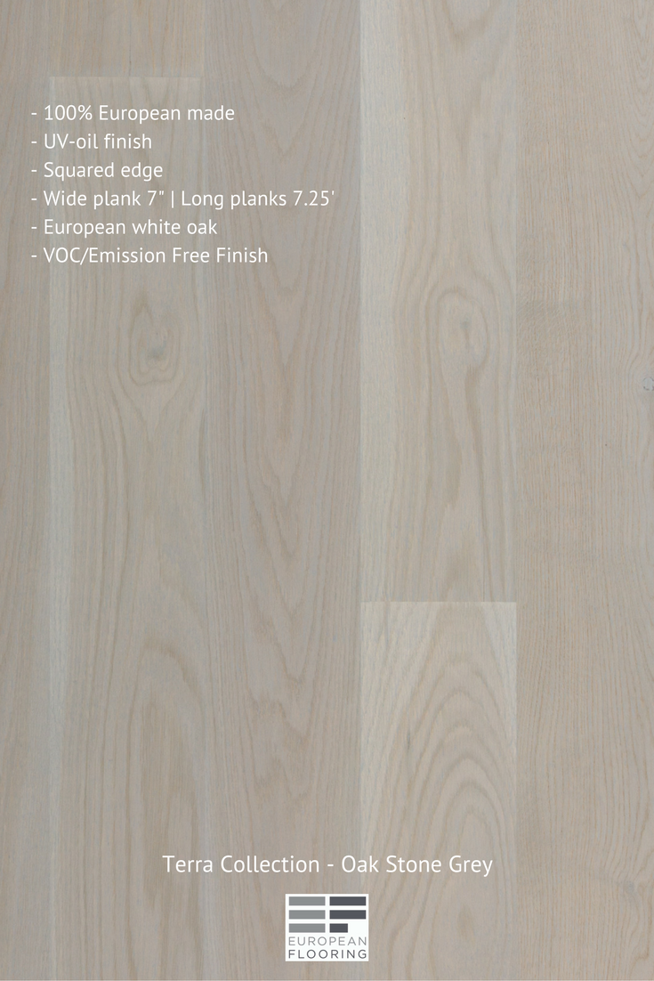 Light Natural Color Engineered Hardwood Floor From Our Terra Collection Uv Oil Finish European Made Squared Edge Ash Wide Plank 7 Long
