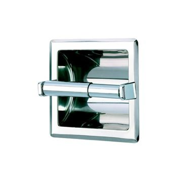 Recessed Toilet Paper Holder Thebathoutlet Com Recessed Toilet Paper Holder Toilet Roll Holder Chrome Toilet Paper Holder