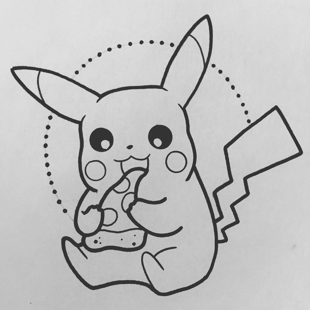 pizza #pikachu #pokemon by alexstrangler You can follow me at ...