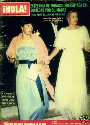 Princess Grace Stephanie Hola Mag 1980