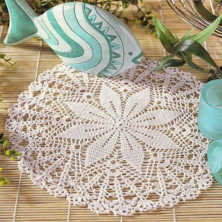 Crochet Doily Free Pattern | CROCHET | chrochet | Pinterest ...