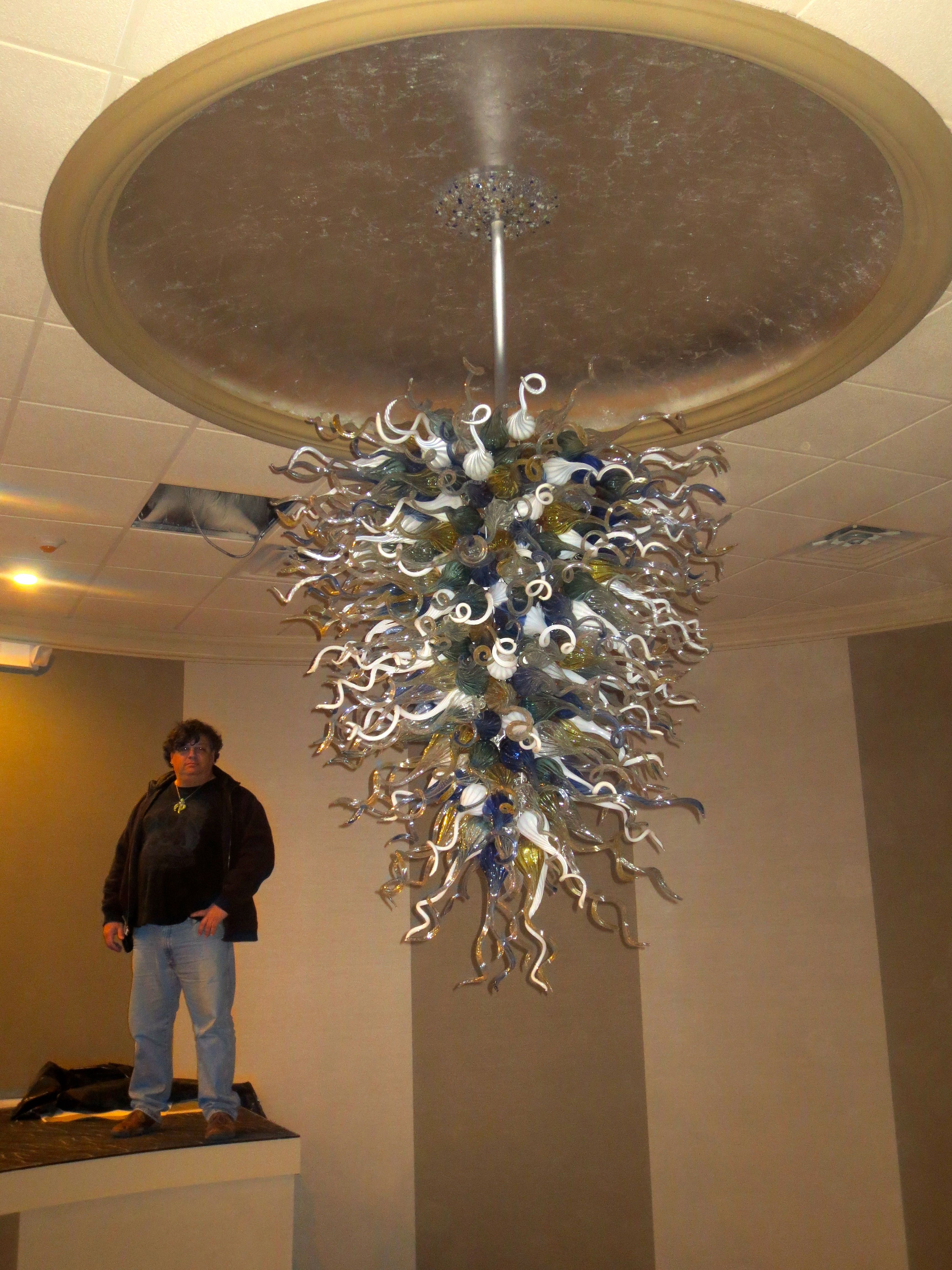 Primo Glassprimo Glass Custom Hand Blown Chandeliers By Primoglass Com