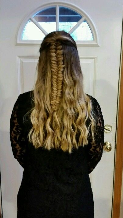 Friend did my hair for tolo. Loved it!