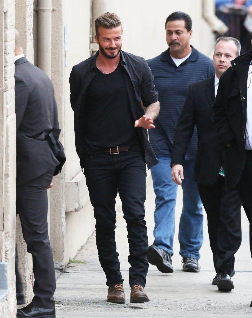 David Beckham Photos Photos: Celebs Stop by Jimmy Kimmel Live!