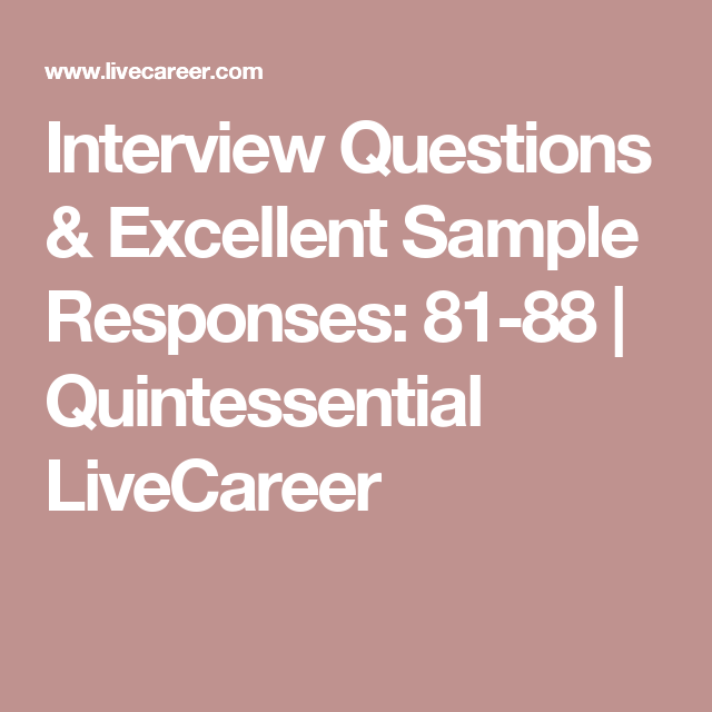 Interview questions and Interview on Pinterest