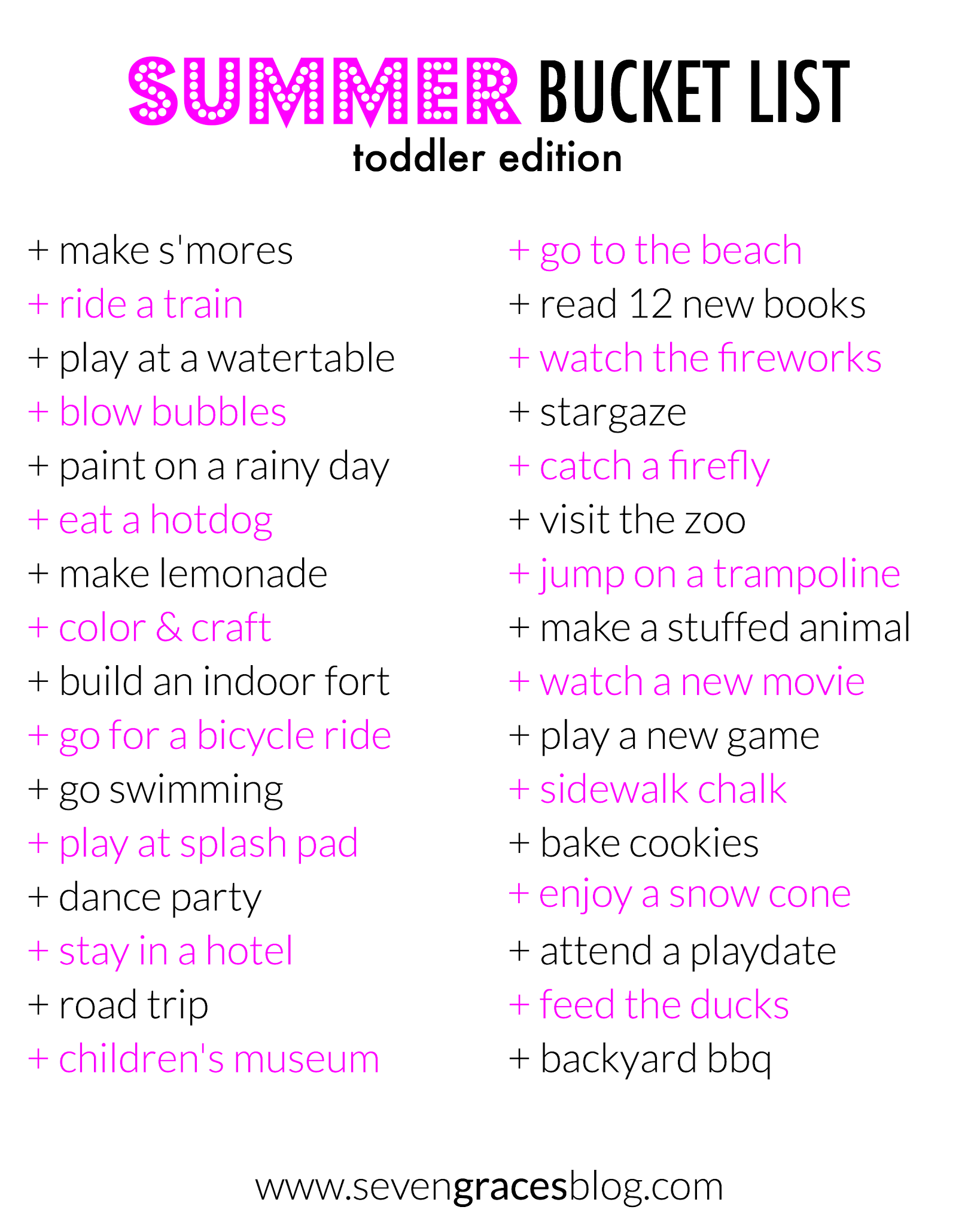 50 Summertime Activities Amp Boredom Busters For