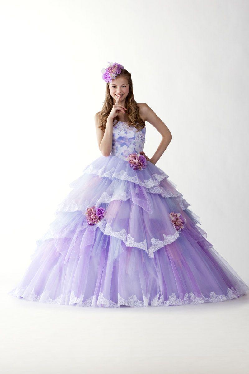 カラードレス|Vieux Paris【ヴュ・パリ】|結婚式のウェディングドレス ...