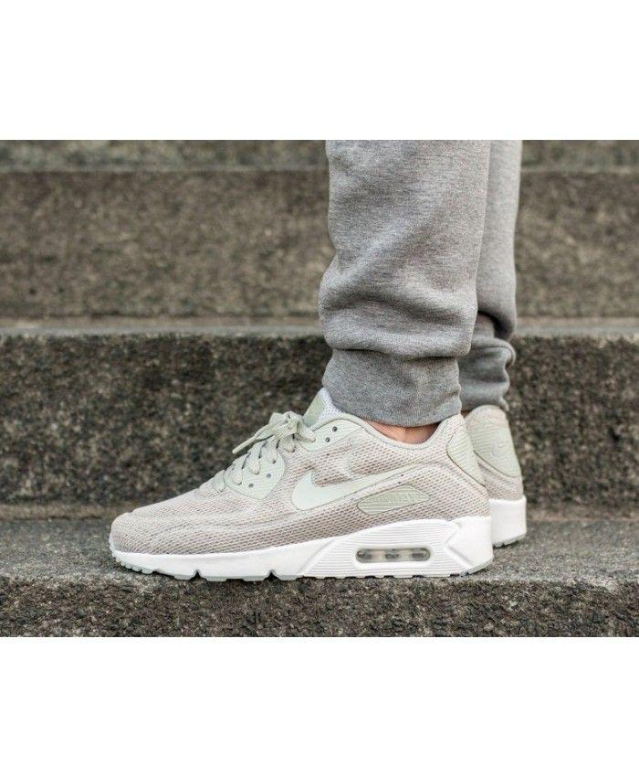wyglądają dobrze wyprzedaż buty outlet na sprzedaż szczegóły dla Nike Air Max 90 Ultra 2.0 Breeze Trainers In Grey White ...
