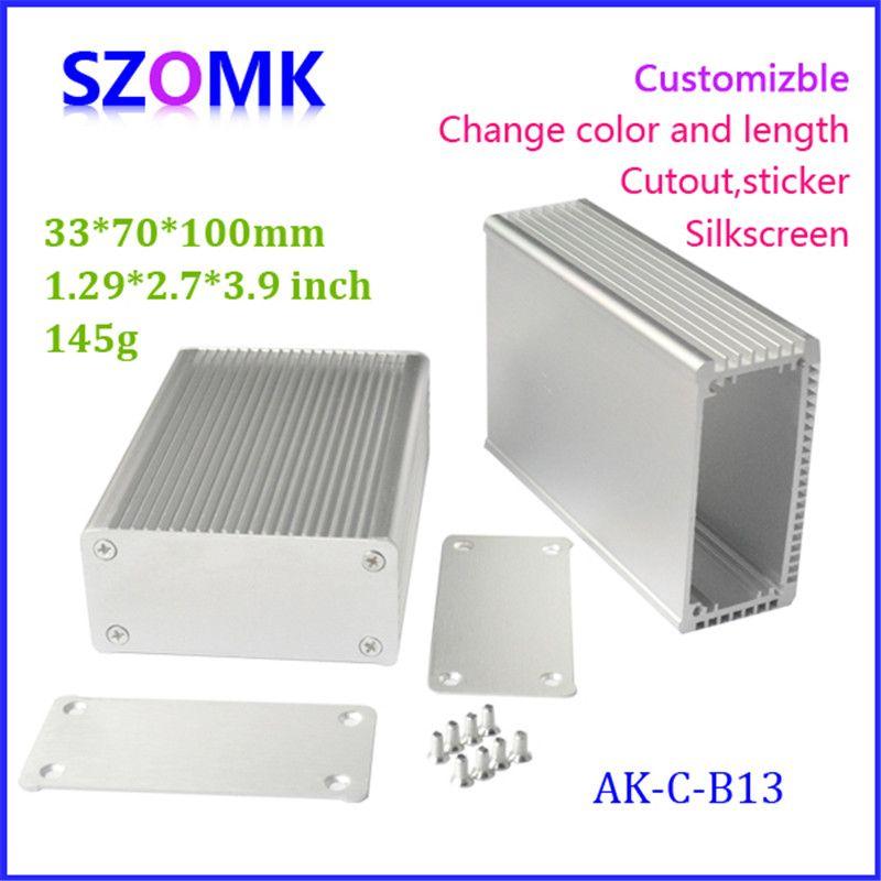 1 piece, 33*70*100mm hot selling szomk pcb outlet enclosure aluminum ...