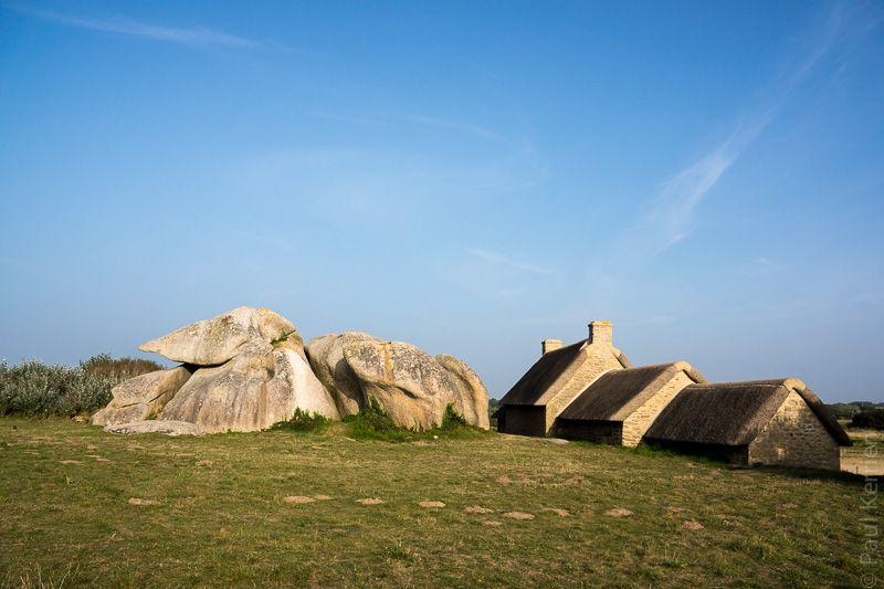 photo en Finistère, Bretagne et...: à Kerlouan, Meneham sur La Côte des Légendes (6 photos dont 1 pano)