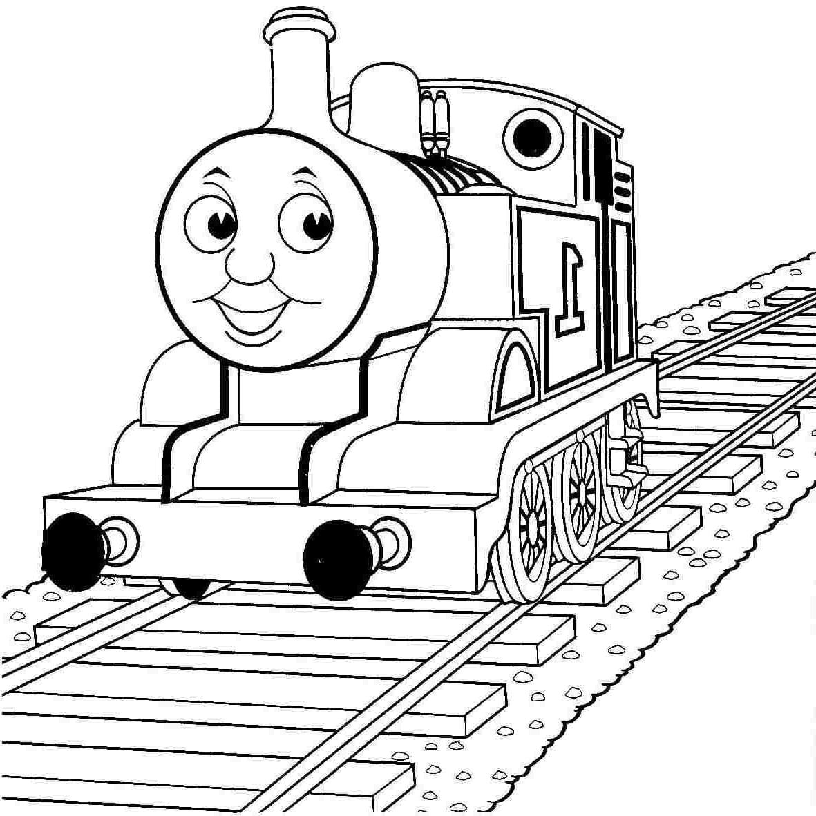 Sel Train Coloring Pages Coloring Pages Thomas And