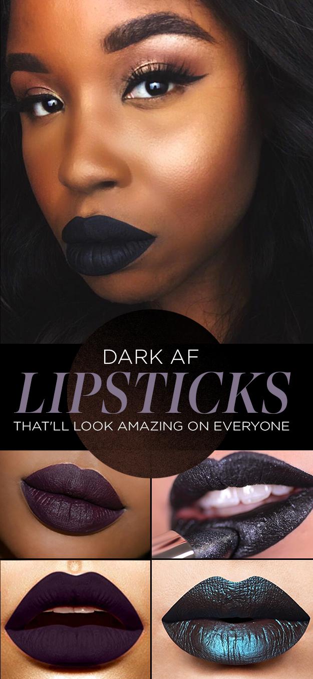 27 Lipstick Colors That Look Amazing on Dark Skinned Women