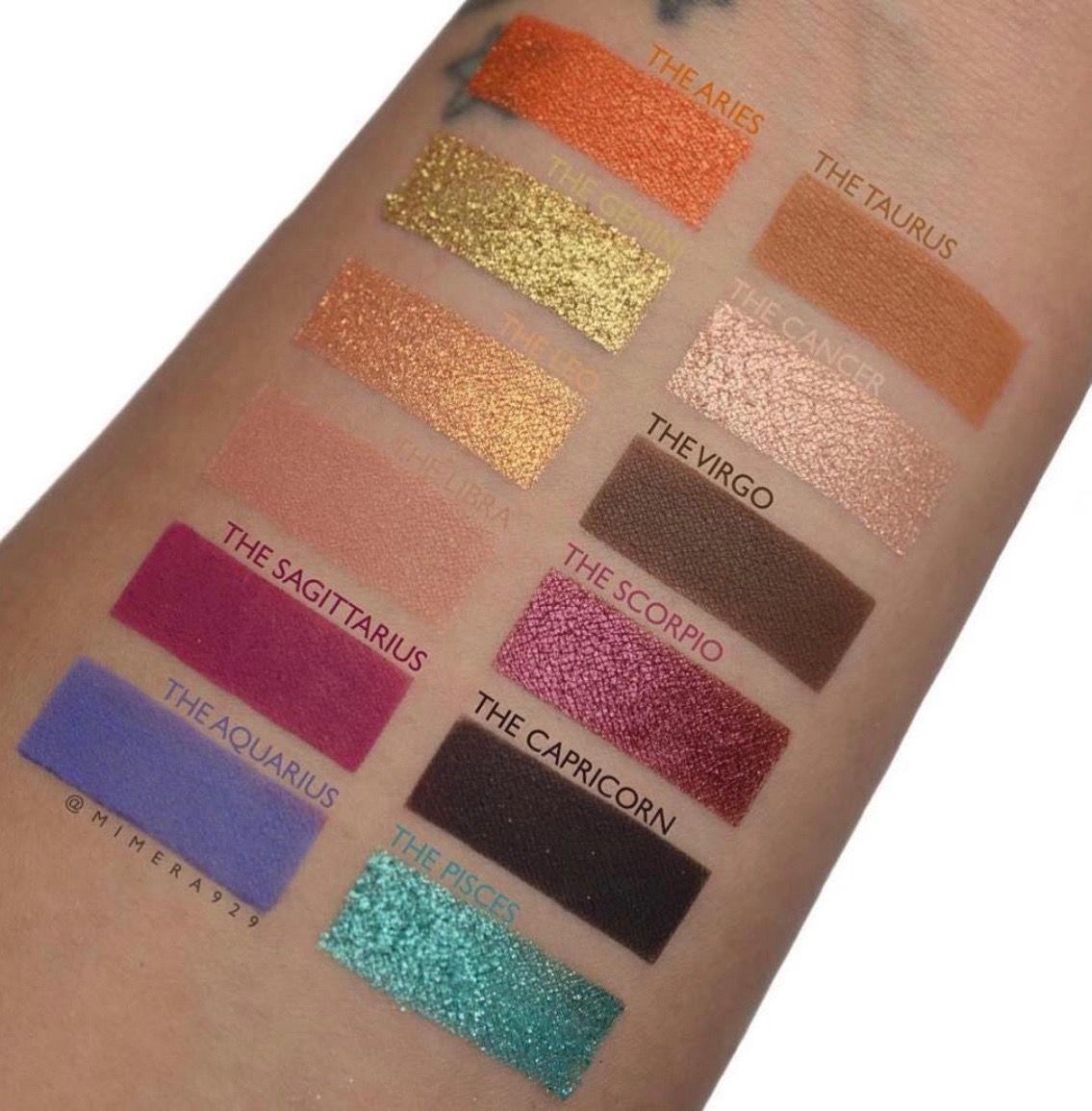 Semi Precious Shadow Palette by Colourpop #8