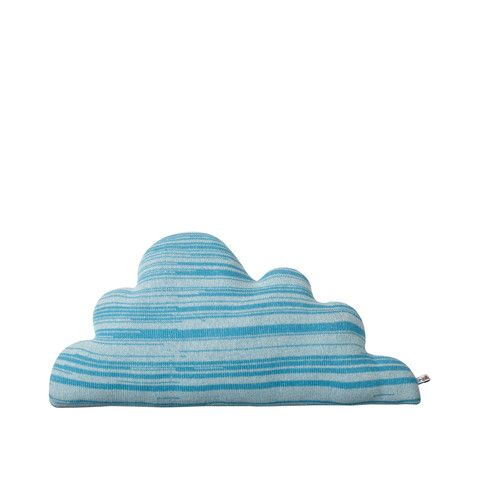 Donna Wilson Medium Blue Cloud Cushion.  A great gift for Mothers Day from Rowdy Roddy Vintage.