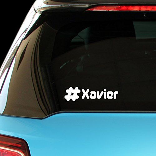 xavier male name car laptop wall sticker ** learn morevisiting