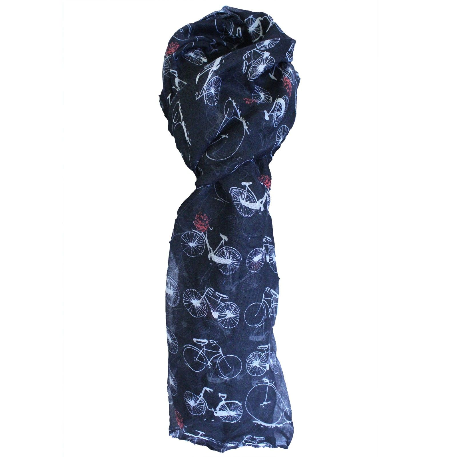 Countrylife Scarves - Bicycles | Hip Angels #Scarves_Wholesale #Wholesale_Scarves #Elemental_Scarves #Bicycle_Scarves #Quality_Scarves