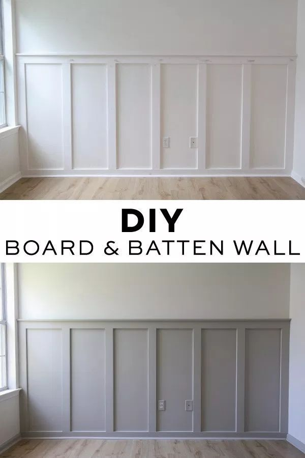 Easy DIY Board and Batten Wall – Angela Marie Made