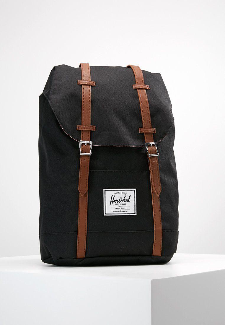 officiell butik bra kvalitet försäljning usa online RETREAT - Rugzak - black @ Zalando.be 🛒 | Herschel, Bags, Black