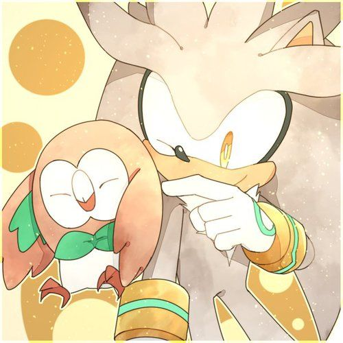 silver, silver the hedgehog, and pokemon image