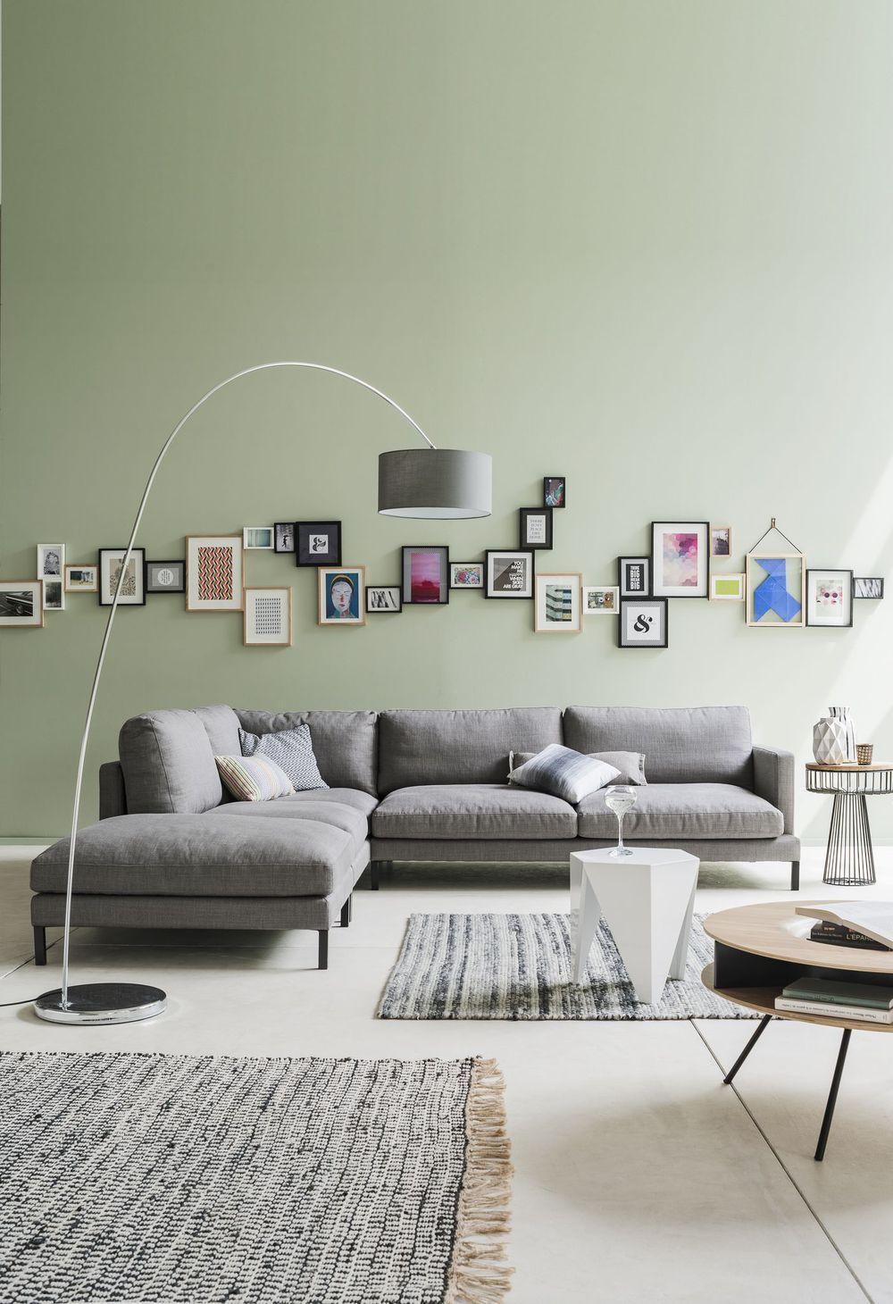 salon avec canap gris idee deco salon gris et marron deco salon canape gris nouveau deco. Black Bedroom Furniture Sets. Home Design Ideas