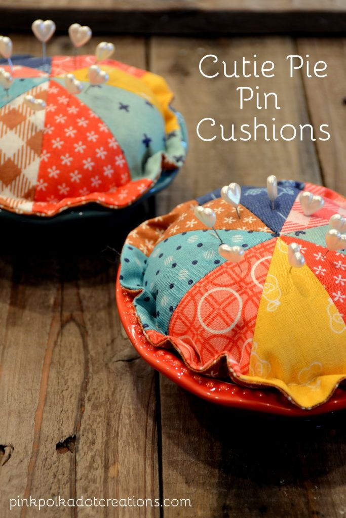 cutie pie pin cushions