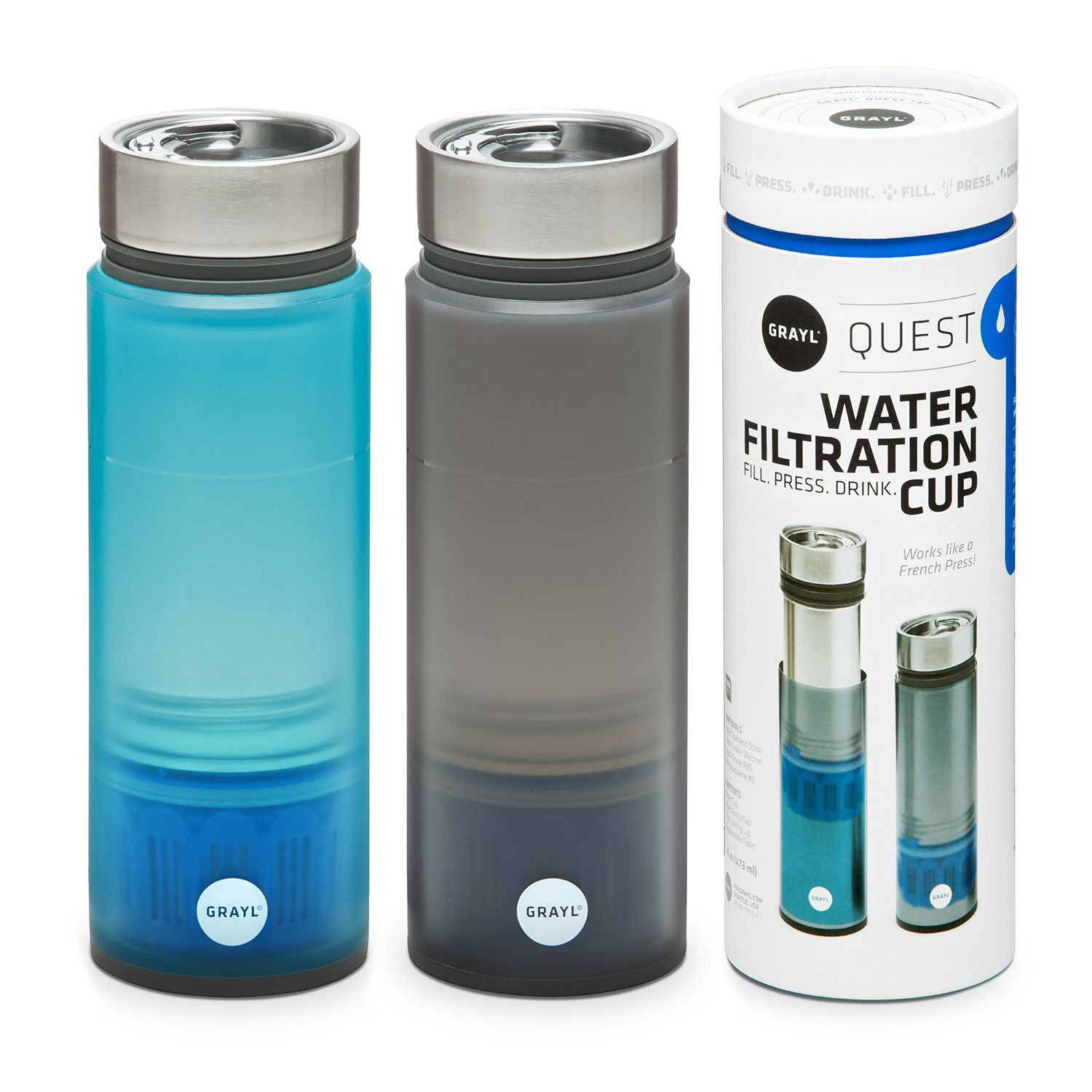 GRAYL® Quest (w/TAP Filter) (With images) Water purifier