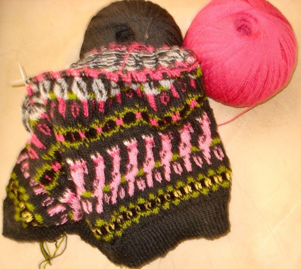 Knitting an Aussie Retro Sleeveless Pullover   Crochet ...